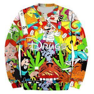 Foute drugstrui festival kleding. feestkleding was nog nooit zo leuk