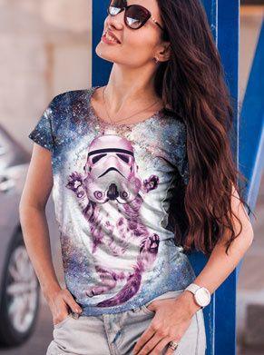 festivalshirt met stormtrooper foute kleding