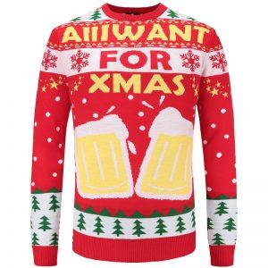 kersttrui voor de bierliefhebber